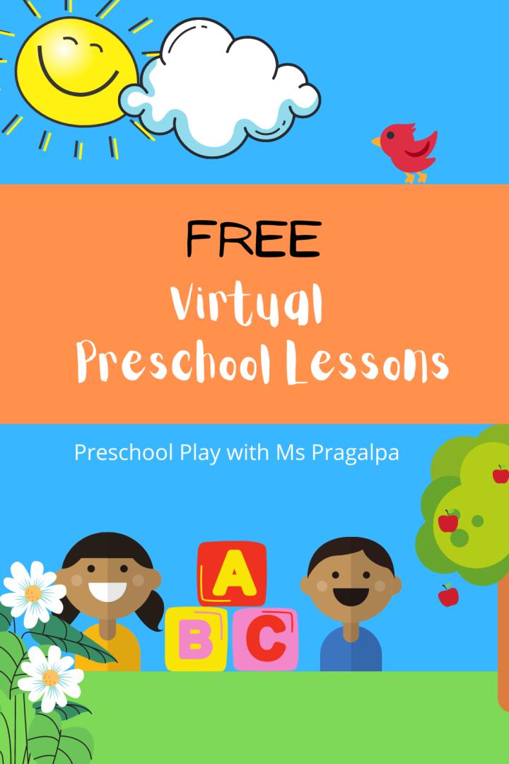 Virtual Preschool Circle TimeVideos